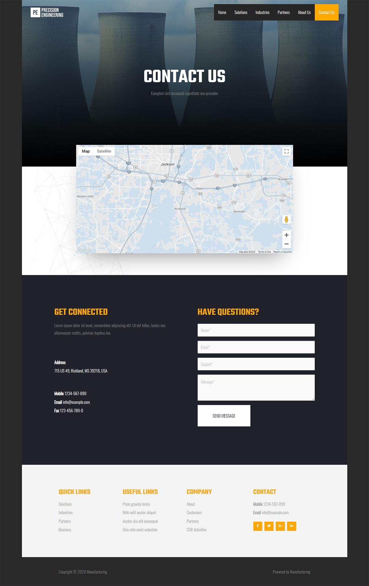 demo16-contact us