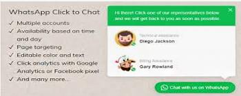外贸soho建站 必备工具---click to chat