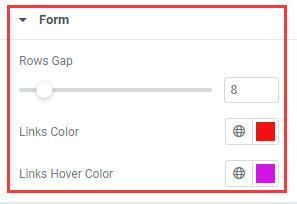 Elementor编辑器login的样式设之form